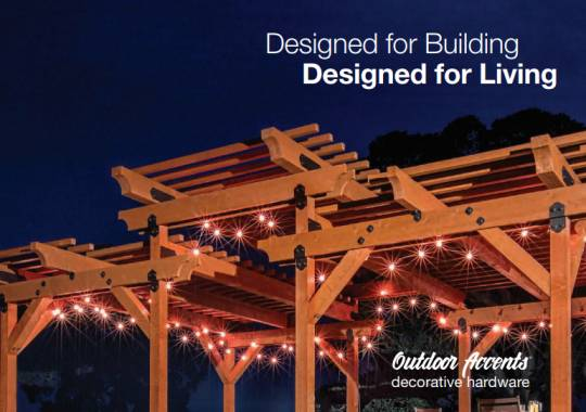 Designed for Building... Designed for Living
