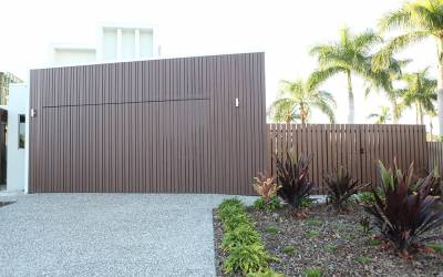 Knotwood Aluminium Cladding