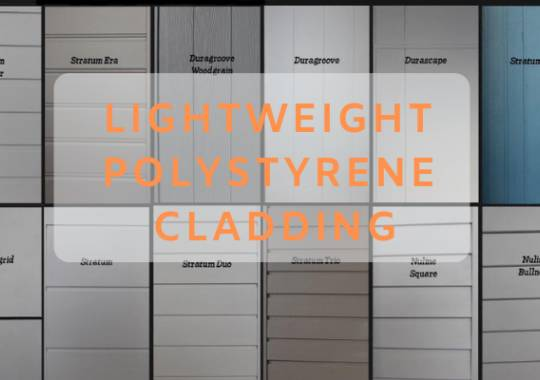 How to Render Lightweight Polystyrene Cladding